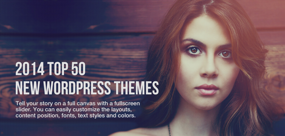 Our Top 50 New WordPress Themes of 2014